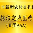 我院成为武汉市新农合市级转诊定点医院(AAA级)